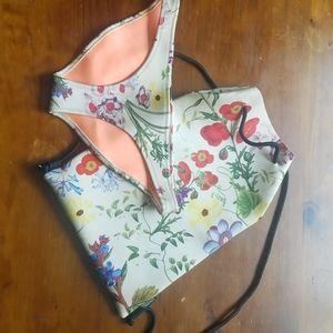 Triangl Bikini Bottom & Bag